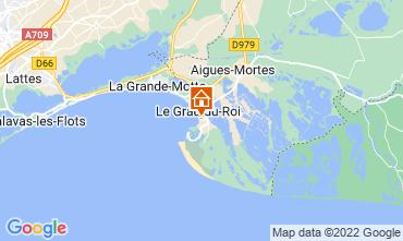 Kaart Le Grau du Roi Appartement 114395