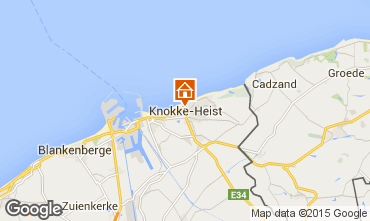 Kaart Knokke-het-Zoute Appartement 9581