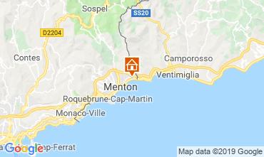 Kaart Menton Appartement 116149