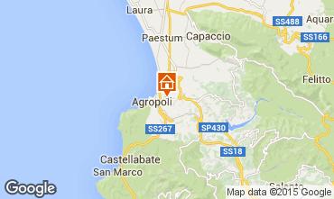 Kaart Agropoli Villa 62652