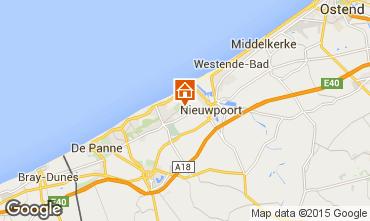Kaart Nieuwpoort Appartement 9584