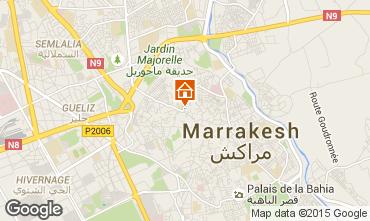 Kaart Marrakech Huis 14098