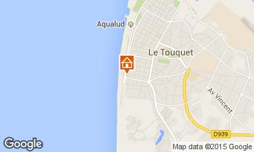 Kaart Le Touquet Studio 71541