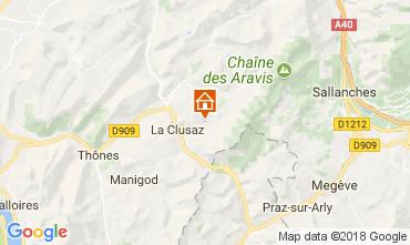 Kaart La Clusaz Appartement 73326