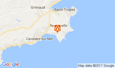 Kaart La Croix Valmer Villa 111829