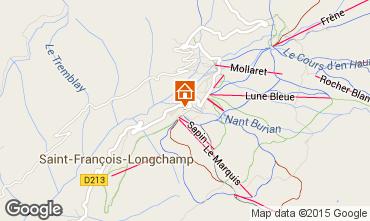 Kaart Saint François Longchamp Appartement 73305