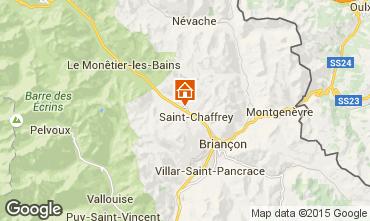 Kaart Serre Chevalier Chalet 2856