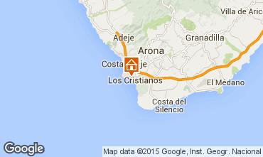 Kaart Los Cristianos Appartement 99539