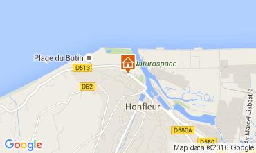 Kaart Honfleur Appartement 106122