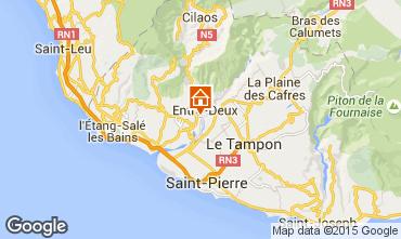 Kaart L'Entre Deux Villa 73361