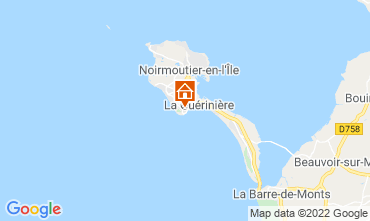 Kaart La Guérinière Huis 41372