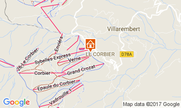 Kaart Le Corbier Studio 39509