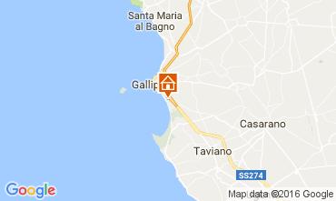 Kaart Gallipoli Appartement 107466