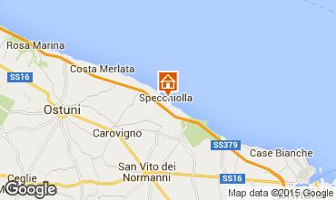 Kaart Ostuni Villa 95650