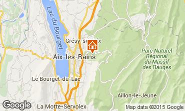 Kaart Aix Les Bains Huis 84393