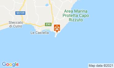 Kaart Isola di Capo Rizzuto Appartement 89444