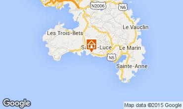 Kaart Sainte Luce Appartement 15113