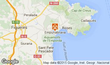 Kaart Empuriabrava Appartement 69678