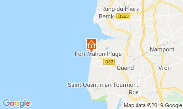 Kaart Fort Mahon Appartement 67417