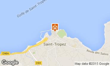 Kaart Saint Tropez Studio 80076