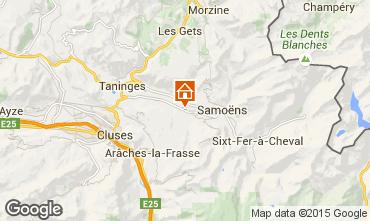 Kaart Morillon Grand Massif Appartement 29272