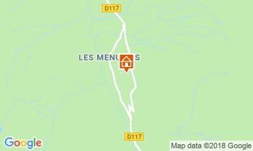 Kaart Les Menuires Appartement 116861