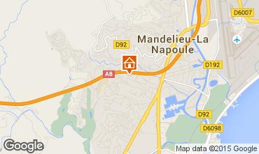 Kaart Mandelieu la Napoule Appartement 51200