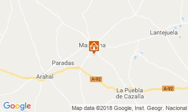 Kaart Sevilla Villa 117336