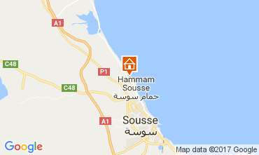 Kaart Port El Kantaoui Appartement 110167