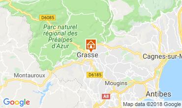 Kaart Grasse Vakantiehuis 56131