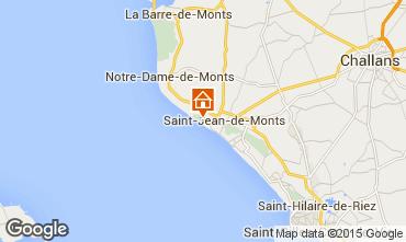 Kaart Saint Jean de Monts Appartement 64812