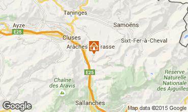 Kaart Les Carroz d'Araches Appartement 627