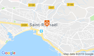 Kaart Saint Raphael Appartement 28963