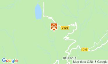 Kaart Aussois Chalet 91664