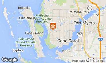 Kaart Cape Coral Villa 57904