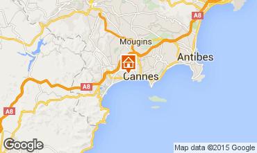 Kaart Cannes Appartement 73628