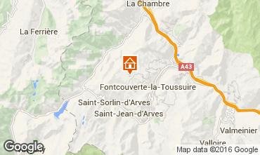 Kaart La Toussuire Appartement 67158