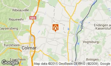 Kaart Colmar Vakantiehuis 13081