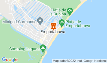 Kaart Empuriabrava Appartement 114955