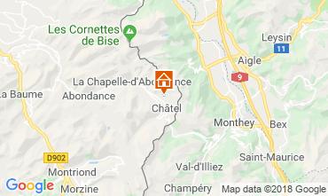 Kaart Châtel Chalet 117459