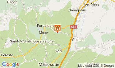 Kaart Forcalquier Huis 90128