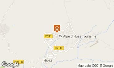 Kaart Alpe d'Huez Studio 58480