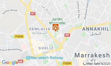 Kaart Marrakech Appartement 70324