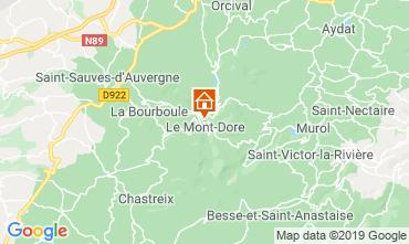 Kaart Le Mont Dore Huis 39305
