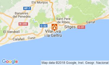 Kaart Barcelona Appartement 114911