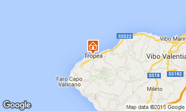 Kaart Tropea Appartement 72629