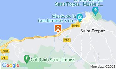Kaart Saint Tropez Villa 118899