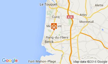 Kaart Le Touquet Huis 105490