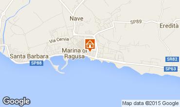 Kaart Marina di Ragusa Appartement 94320