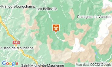 Kaart Les Menuires Appartement 52183